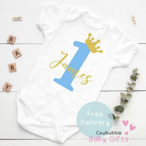 1st Birthday Outfit Baby Vest, Baby Clothes, Bodysuit, Baby Grow, First Birthday