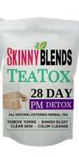 28 Day Skinny Blends PM Detox Tea! Naturally Cleanse, Stop Bloat & Boost Energy!