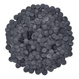 US Stock 500pcs Plastic Black Buttons Fit Shoe Charms Factory DIY Decorations