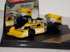 RENAULT RS01/1 DUTCH F1 GP 1977 #15 J. P. JABOUILLE QUARTZO Q4049 1:43