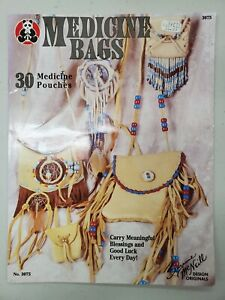Medicine bags 30 medicine pouches [1994] Suzanne McNeill Craft Book Instructions