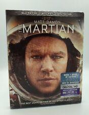 Martian 3D, The  (Blu-ray 3D+Blu-ray+Digital HD, 2015) NEW w/ Slipcover
