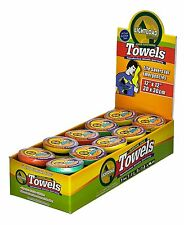 "50 Piece Display 12x12"" Extreme Life, Space and Weight Savers Lightload Towels"