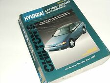 Hyundai Repair Manual 1986-1993 Elantra Excel Scoupe Sonata US and Canadian