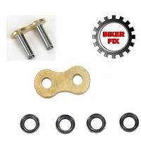 Replacement Soft Rivet Link For 530 X-Ring Gold Chain Fits Most Japanese Chains