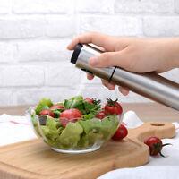 Neu Edelstahl Olive Pumpspray Fein Flasche Öl-Sprüher d Cooking M5H0 G7R6