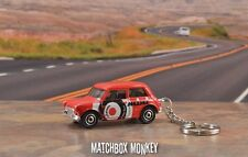 1964 Red Mini Cooper Custom Keychain FOB Porte Cles Llavero Schlusselhanger BMW