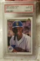 1990 Upper Deck Ken Griffey Jr #156 PSA 10 GEM MINT SEATTLE MARINERS