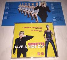 Roxette 1999 Wish I Could Fly / Anyone / Have A Nice Day Taiwan 2 Track Promo CD