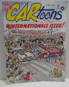 CARtoons Magazine #81 April 1975 Winter Nationals Issue, Ellefson, Pete Millar