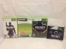Call Of Duty COD Bundle - Black Ops I, II, MW2 & MW3
