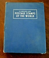 CatalinaStamps: Ambassador Stamp Album, Harris 1957 w/600 Stamps, Lot D33