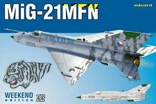 Eduard 1/72 Model Kit 7452 Mikoyan MiG-21MFN Weekend Edition