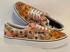 Vans New UA Era Bandana Tie Dye/Orange Men Size USA 9 UK 8.5 EUR 42