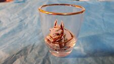 Vintage Shot Glasses Grand National Horses NICOLAUS SILVER 1961