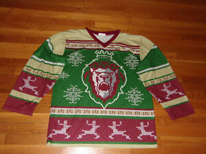 READING ROYALS LONG SLEEVE GIVEAWAY HOCKEY JERSEY MENS 2XL EXCELLENT CONDITION