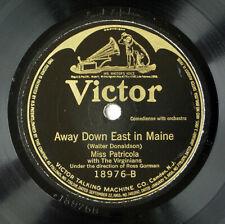 78rpm - Jazz- Miss ISABELLA PATRICOLA: Away Down East in Maine & Lovin' Sam