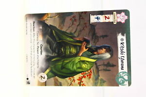 Legend of the Five Rings LCG Kitsuki Yaruma Dragon Clan Promo (U-B3S2 231002)