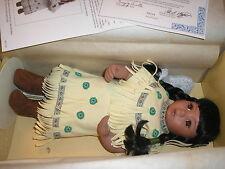Danbury Mint Artaffects Gentle Shepherd Indian Doll in the Box