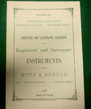 Hand-Book and Illustrated Catalogue Engineers' & Surveyors' Instruments Inv#HK78