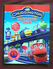 CHUGGINGTON - JUMBO COLOURING IN & ACTIVITY Puzzles Colour-in BOOK Color - NEW