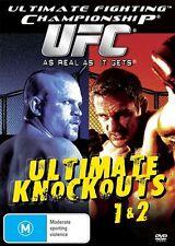 UFC - Ultimate Knockouts 01 & 02 (DVD, 2009)