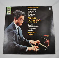 LP: Bruno Leonardo Gelber Beethoven Klavierkonzert Nr.3 (SME 91667) Leitner