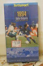 1994 - ITALIA- BULGARIA -VHS - SIGILLATA TUTTOSPORT