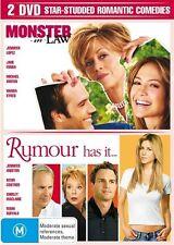 Monster In Law  / Rumour Has It (DVD, 2007, 2-Disc Set) Jennifer Aniston