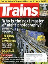 Trains Magazine September 2008 Who is the next master of night photography?