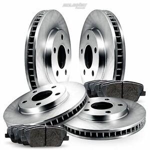 Full Kit Replacement Brake Rotors Disc and Ceramic Pads For Aurora,Regency