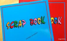 Scrap book A4 size Set of 2 scrap books scrapbook