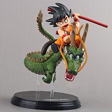 Dragon Ball Z 5'' Figures Saiyan Child Son Goku Ride on Shenron Figure (SKU