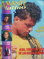 LUIS MIGUEL &  RICKY MARTIN  VERY RARE  Magazine APRIL 1994 + LUIS MIGUEL POSTER
