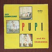 Pupi Y Su Charanga – Soy Campesino [1978] Vinyl LP Latin Bolero Son Cumbia