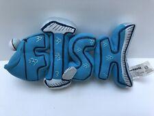 PBS Word World Magnetic Pull Apart FISH Plush Stuffed Toy 2007