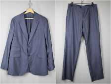 Faconnable Dark Blue Wool/Silk Tailoring Suit