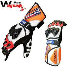 Honda Repsol Motorbike Leather Gloves Racing Suit Racing Gloves MotoGp