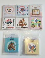 Bernina Embroidery Design Card Lot of 8