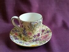 Lord Nelson Ware Demitasse Cup & Saucer Set in Heather 2750