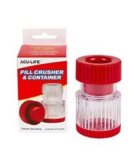 Acu-Life Pill Crusher Container Crushes Any Pill Tablet Vitamin for Easy Digest