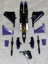 Transformers G1 Vintage Skywarp REISSUE 2002 Almost Complete