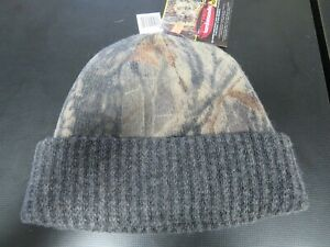 Realtree Hardwoods Wool Camouflage Beanie Winter Hat A5