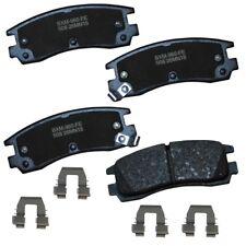Disc Brake Pad Set-Stop Semi-Metallic Brake Pad Rear Bendix SBM508