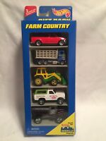 VINTAGE HOT WHEELS FARM COUNTRY 5 CAR GIFT PACK 1:64 SCALE DIECAST