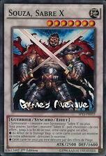 Yu-Gi-Oh ! Carte Souza, Sabre X  SP15-FR033 (SP15-EN033) - VF/COMMUNE
