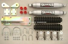 2005-19 FORD F250 F350 4x4 - DUAL FRONT STEERING STABILIZER SHOCK KIT