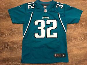 NFL Jacksonville Jaguars #32 Jones-Drew On Field Youth 10/12 Jersey M