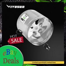 Vivosun 8 Inch 420 Cfm Inline Duct Booster Fan Ventilation Exhaust Air Blower