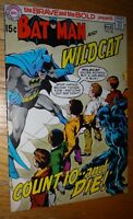BRAVE AND BOLD #88 BATMAN WILDCAT NEAL ADAMS COVER  FINE